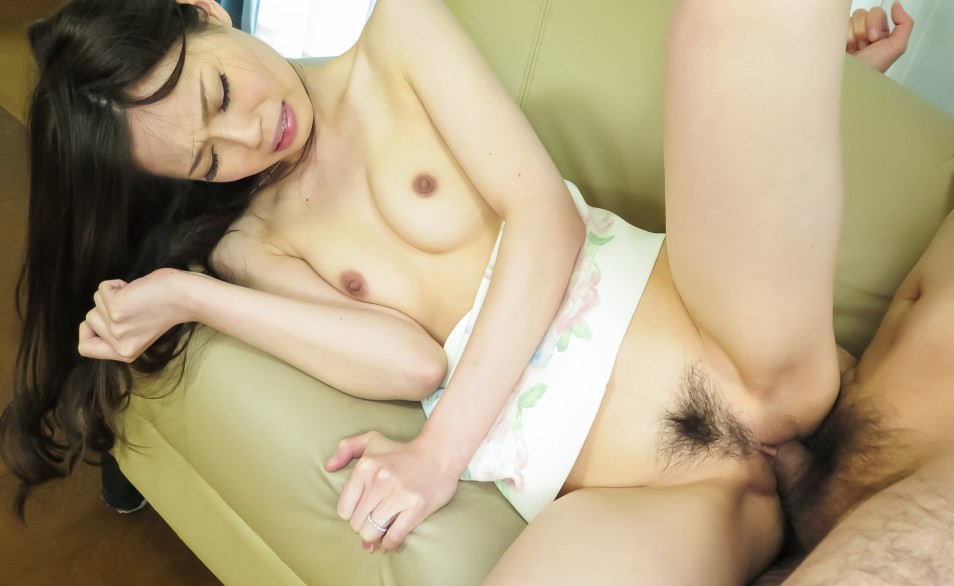 Preview Hairy AV - Misaki Yoshimura has crack very well fucked and filled with cum